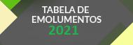Tabela de Emolumentos 2021