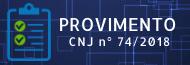 Provimento CNJ 74/2018
