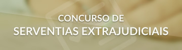 Concurso Público Serventias Extrajudiciais